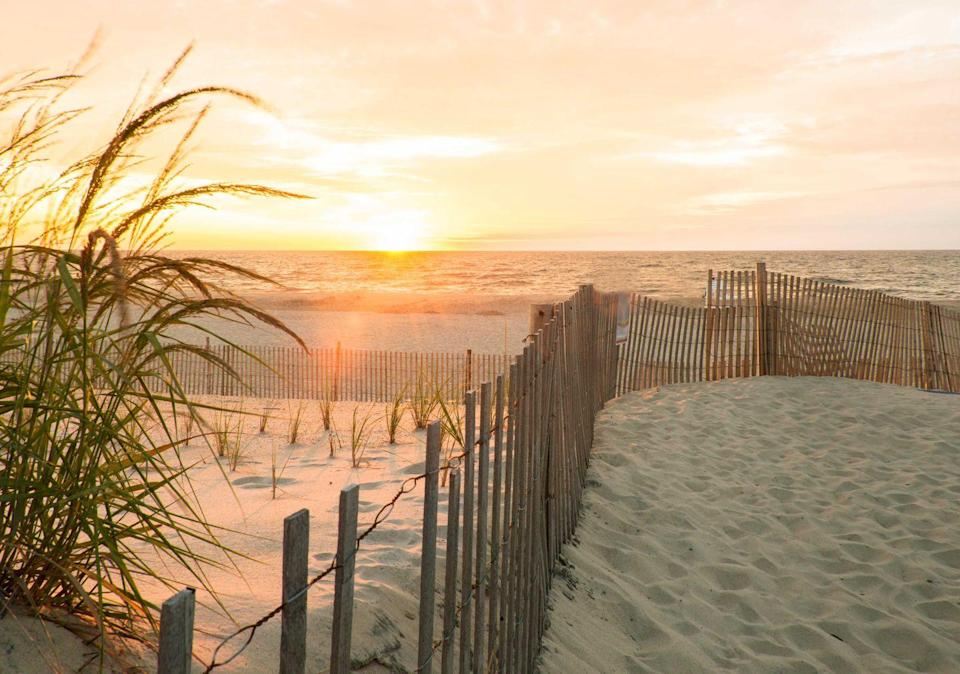 """<p><strong>Bethany Beach</strong></p><p>A hot beach escape destination, <a href=""""https://www.townofbethanybeach.com/"""" rel=""""nofollow noopener"""" target=""""_blank"""" data-ylk=""""slk:Bethany Beach"""" class=""""link rapid-noclick-resp"""">Bethany Beach</a> offers historical gems such as the Indian River Life Saving Station, built in 1877 and the Fenwick Island Lighthouse. The beach is clean and the water is just fine for catching some waves.</p>"""