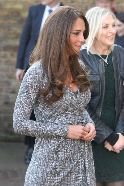 <p>The mother-to-be had cancelled all appearances last December after she sufffered from severe morning sickness. (Photo by Danny Martindale/Getty Images)</p>