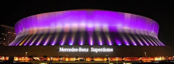 """<p>The New Orleans venue also glowed for Prince, whom a spokesperson for the venue described as """"a true music legend."""" <i>(Photo: Twitter)</i></p>"""