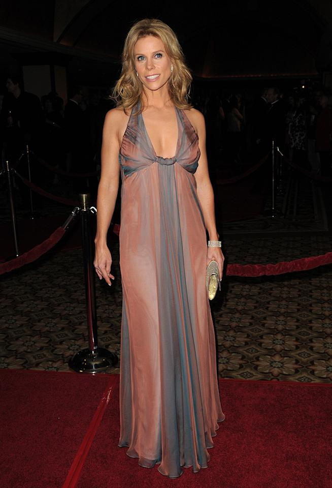 """<a href=""""http://movies.yahoo.com/movie/contributor/1804537315"""">Cheryl Hines</a> at the 62nd Annual Directors Guild of America Awards in Century City, California on January 30, 2010."""