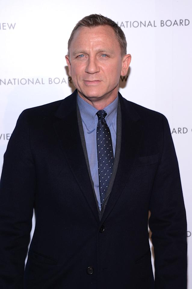 NEW YORK, NY - JANUARY 08:  Actor Daniel Craig attends the 2013 National Board Of Review Awards at Cipriani 42nd Street on January 8, 2013 in New York City.  (Photo by Stephen Lovekin/Getty Images)