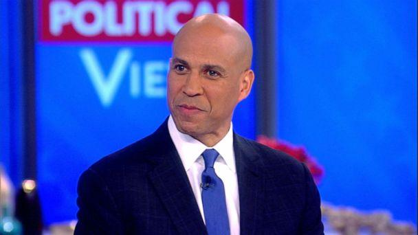 PHOTO: Sen. Corey Booker appears on 'The View,' Oct. 30, 2019. (ABC News)