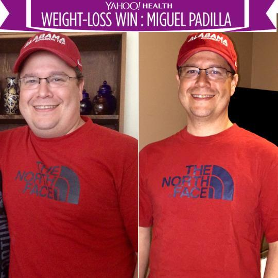 Miguel Ran Every Day For A Year And Lost More Than 50 Pounds