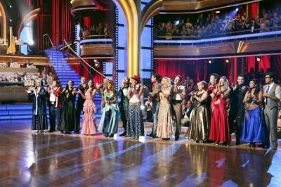 The cast of Week 4 of 'Dancing with the Stars,' Oct. 10, 2011 -- ABC