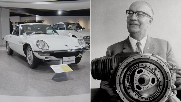 August 13: Rotary engine inventor Felix Wankel was born on
