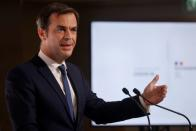 French PM Castex holds news conference on COVID-19 strategy, Paris
