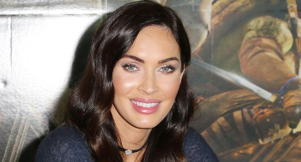 Megan Fox has shared an image of her son wearing a Frozen dress (Getty Images)