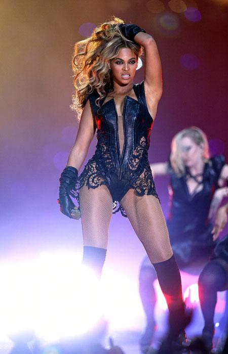 The diva lived up to all expectations in spectacular fashion. Not only did she reunite with Kelly Rowland and Michelle Williams (they sang Bootylicious!) but she did sing live and sounded fantastic. And in true diva form, her Sasha Fierce alter-ego came alive in a leather and lace look complete with long gloves, knee-high socks and high-heeled booties. Meow! (Photo by Ezra Shaw/Getty Images)