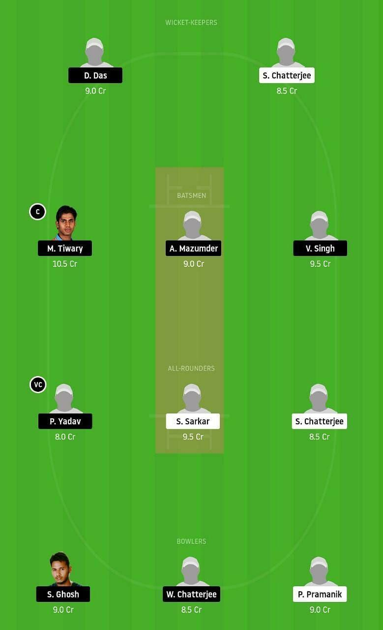 Kac Vs Mbc Dream11 Team Prediction Fantasy Cricket Tips Playing 11 Updates For Today S Bengal T20 Match Nov 25th 2020