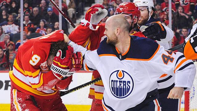 Tkachuk thought his actions spoke for themselves. (Derek Leung/Getty Images)