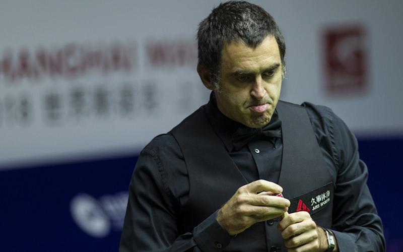 Ronnie O'Sullivan says Crawley's K2 Leisure Centre, this year's host of the British Open, 'is a bit of a hellhole - Visual China Group