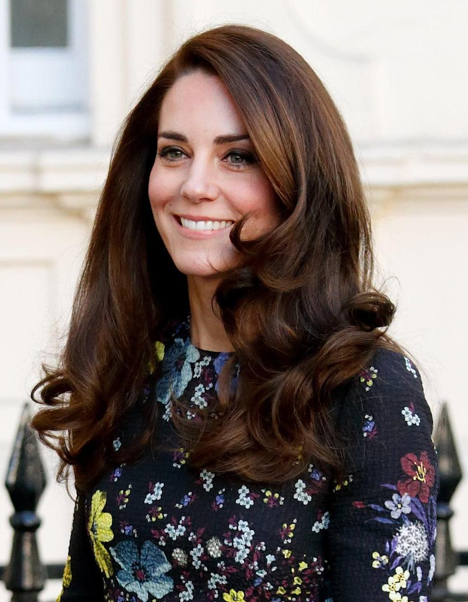 <p>This is Middleton's glamorous blowout taken up a notch. It's got <em>all</em> the volume, <em>all</em> the shine, and <em>all</em> the gorgeous curls.</p>