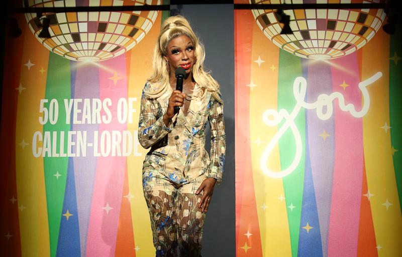 See Honey Davenport (pictured here in 2019 in New York City) as part of Pride DragFest 2020. (Photo: Walter McBride/Getty Images)