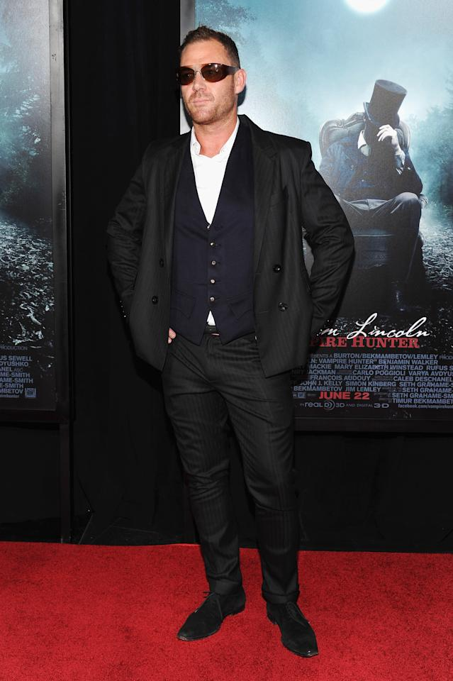 """NEW YORK, NY - JUNE 18:  Actor Marton Csokas attends the """"Abraham Lincoln: Vampire Hunter"""" premiere at AMC Loews Lincoln Square on June 18, 2012 in New York City.  (Photo by Larry Busacca/Getty Images)"""
