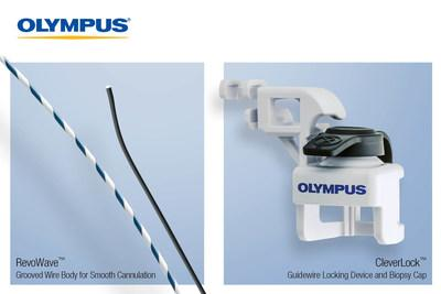 Olympus expands its ERCP access portfolio with two new products for biliary endoscopy. Via an exclusive agreement, Olympus will be the U.S. distributor of the RevoWave Endoscopic Guidewire, which provides smooth and atraumatic biliary cannulation in sensitive anatomy. The Olympus-designed and manufactured CleverLock Guidewire Locking Device securely locks multiple guidewires in place with a simple, stable design.