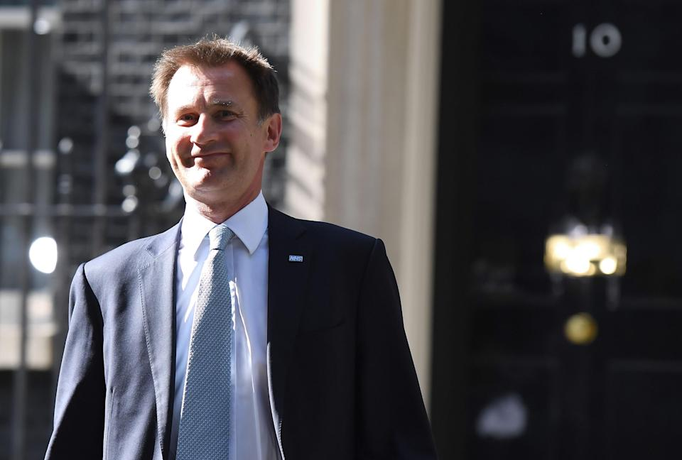 Jeremy Hunt says the public supports the idea of a dedicated 'health tax' (Chris J Ratcliffe/Getty Images)