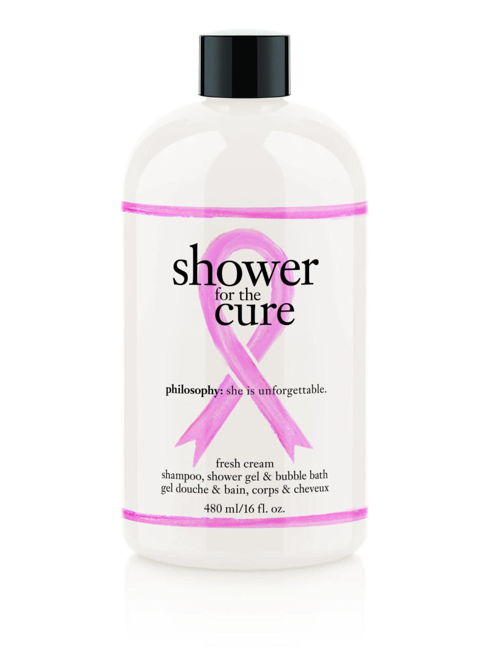 Thanks to milk proteins and tangerine nectar, this gentle, creamy formula will leave your skin and hair ultra soft and lightly scented. 100% of net proceeds support the entertainment industry foundation's women's cancer research fund.