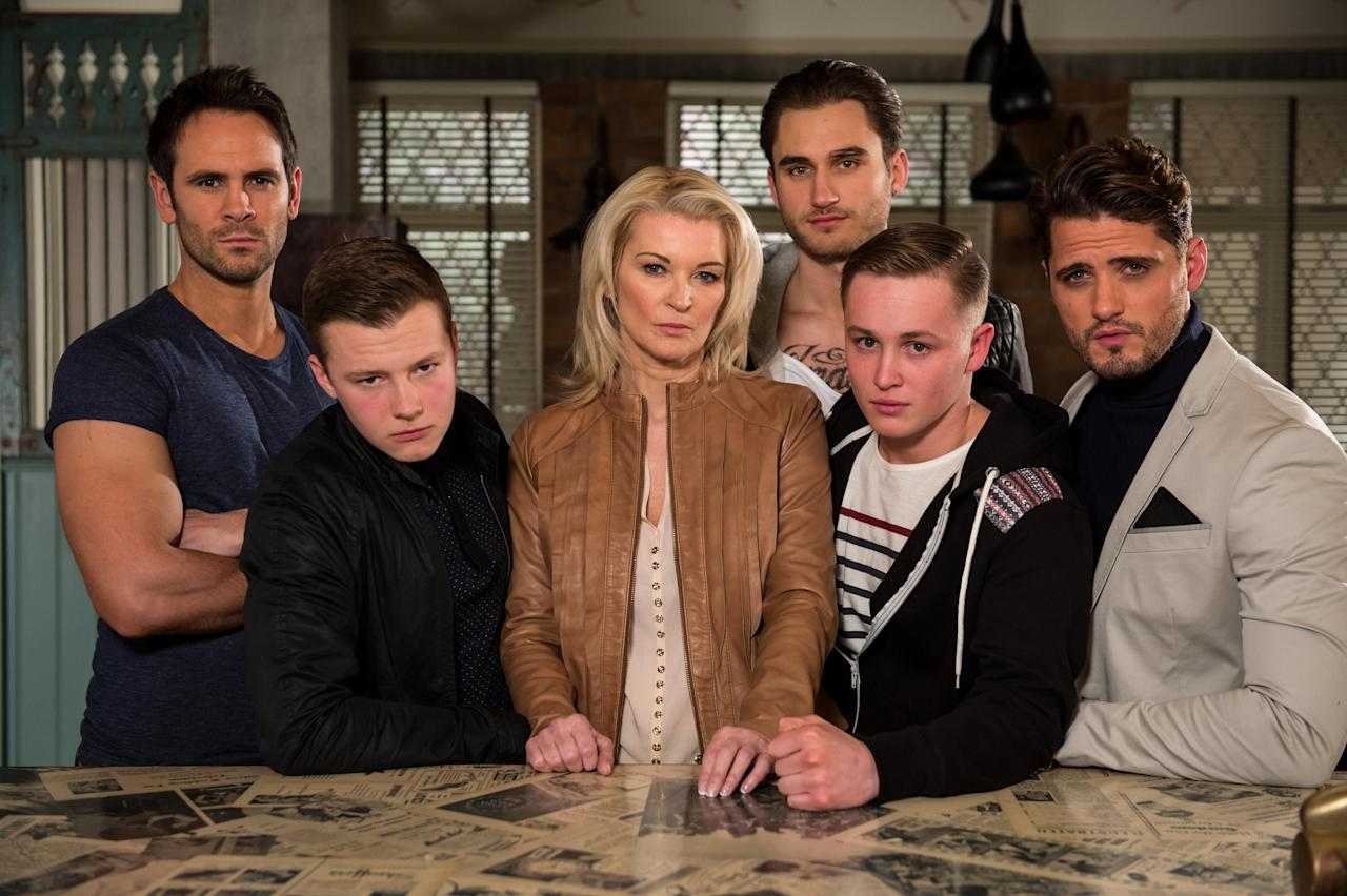 <p>The full Roscoe family turned up in the village soon afterwards, with Freddie and Robbie being joined by their mum Sandy and their other brothers Joe, Ziggy and Jason. Who would have thought back then that Freddie would be the last Roscoe standing?</p>