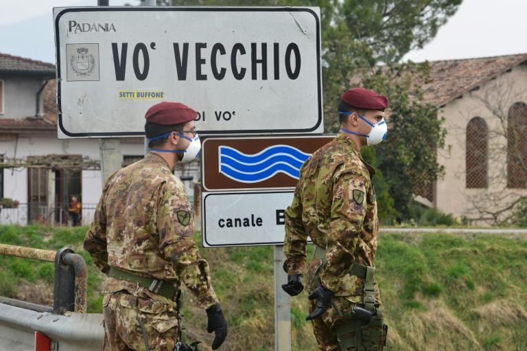 Eleven towns -- 10 in Lombardy and one in neighbouring Veneto -- are under lockdown, with some 50,000 residents prohibited from leaving