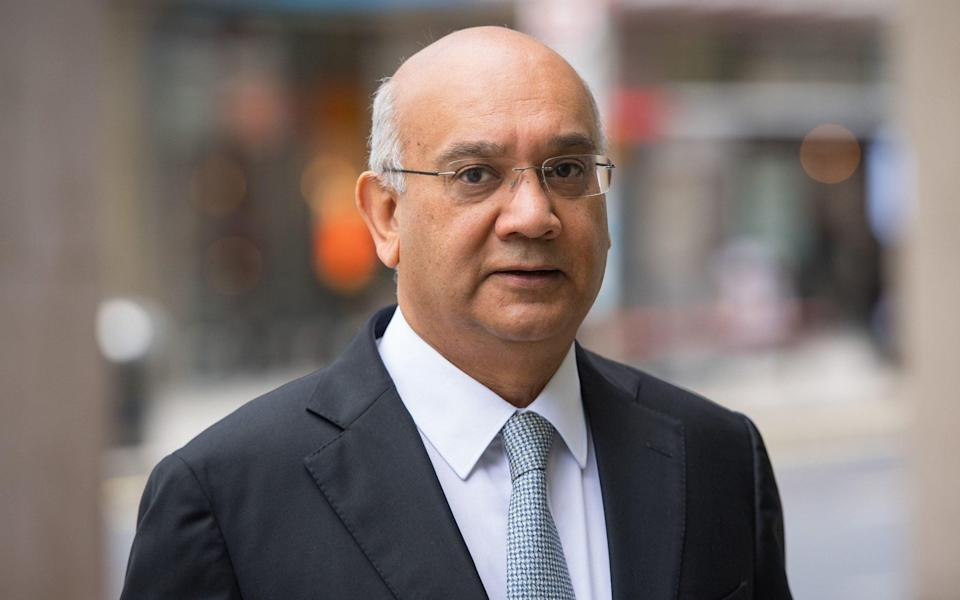 Keith Vaz, the former Labour MP, previously held the Leicester East seat currently occupied by Webbe - Dominic Lipinski/PA Wire