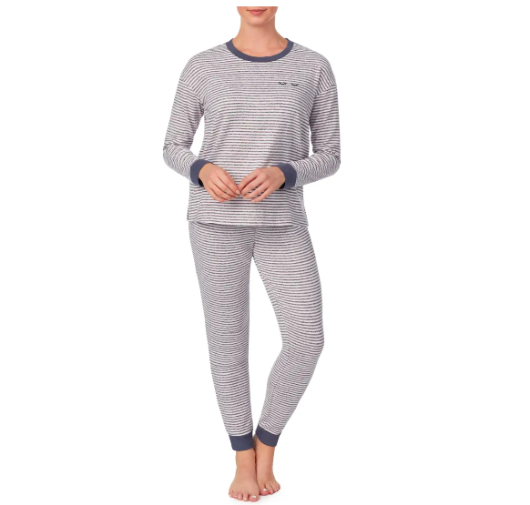 "<p><strong>Room Service</strong></p><p><a href=""https://go.redirectingat.com?id=74968X1596630&url=https%3A%2F%2Fwww.nordstrom.com%2Fs%2Froom-service-knit-pajamas-nordstrom-exclusive%2F5734828%3Forigin%3Dcategory-personalizedsort%26breadcrumb%3DHome%252FSale%252FWomen%26color%3Dgrey%2Bfeeder%2Bstripe&sref=https%3A%2F%2Fwww.bestproducts.com%2Fpromo-coupon-codes%2Fg34775483%2Fnordstrom-black-friday-cyber-monday-deals-2020%2F"" rel=""nofollow noopener"" target=""_blank"" data-ylk=""slk:Shop Now"" class=""link rapid-noclick-resp"">Shop Now</a></p><p><strong>Price: <del>$74</del> $36.90 (50% off) </strong></p><p>A striped matching pajama set is calling your name. It even has tiny winked eyes stitched into the top! </p>"