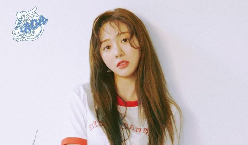 Mina was rushed to the hospital after an acquaintance discovered her at her home this morning. — Picture via Facebook/OfficialAOA