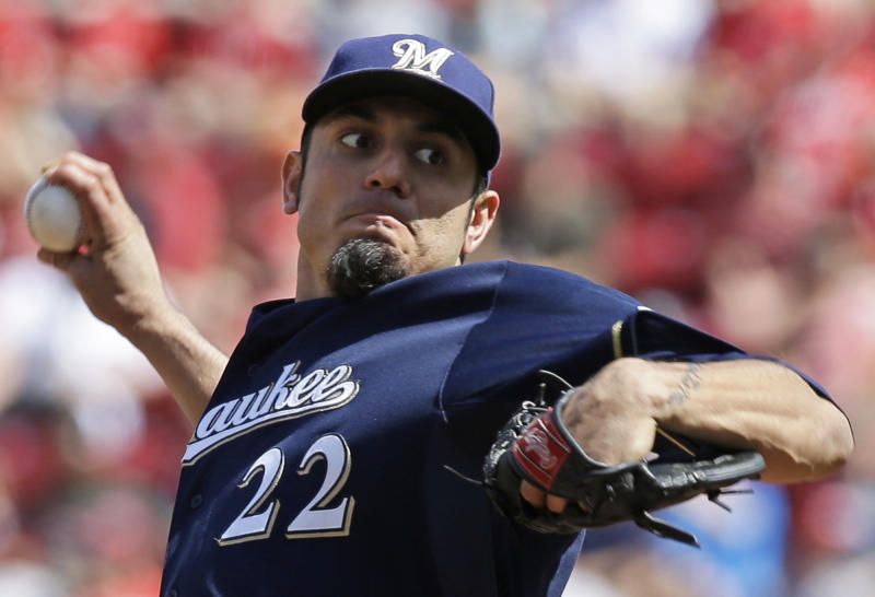 Brewers beat Reds 1-0, end 4-game slide