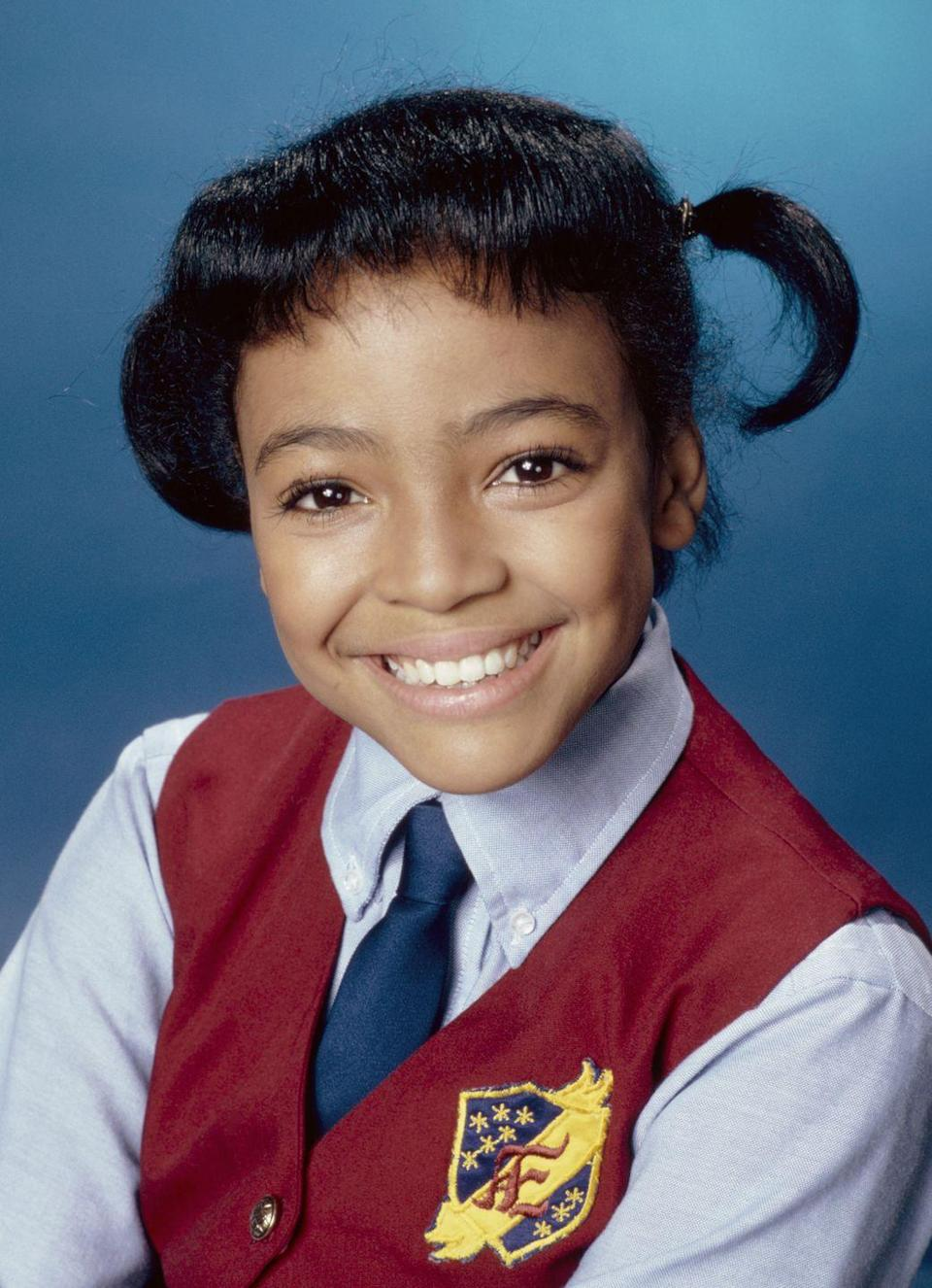 <p>Gossipy Dorothy, a.k.a. Tootie, from <em>The Facts of Life</em> made us all fall in love with rollerskates and pigtails. Fun fact: Kim Fields actually had to wear braces until 1985, so the ones she wore in earlier seasons were totally real.<br></p>