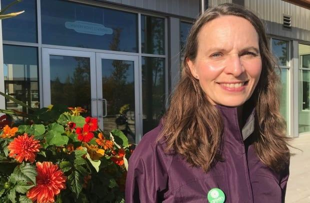 Lenore Morris is running again as the Green Party's Yukon candidate.  (Dave Croft/CBC - image credit)
