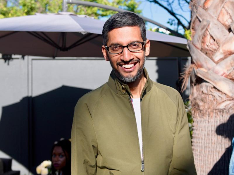 Google shares fall as CEO confirms 'Project Dragonfly'