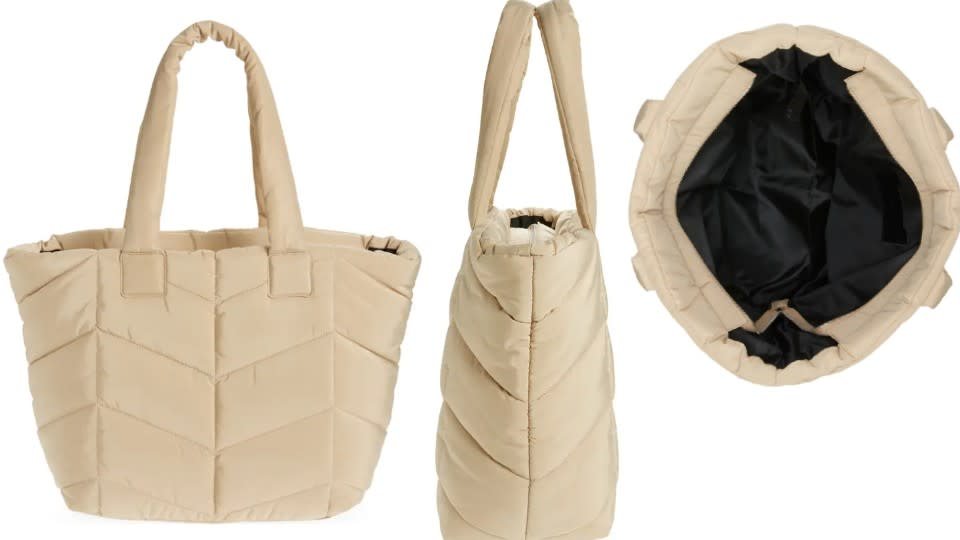 Topshop Chevron Quilted Tote - Nordstrom, $33 (originally $50)