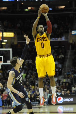 C.J. Miles shoots. He likes shooting. (David Richard-USA TODAY Sports)