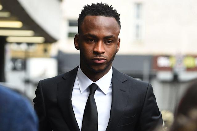 Stoke City footballer Saido Berahino 'had blood on his hands when he was pulled over for drink driving'