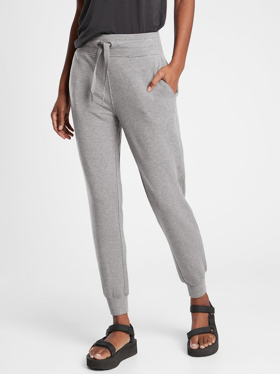 <p>In the year of sweatpants, they'll be so excited about these <span>Athleta Balance Joggers</span> ($89).</p>