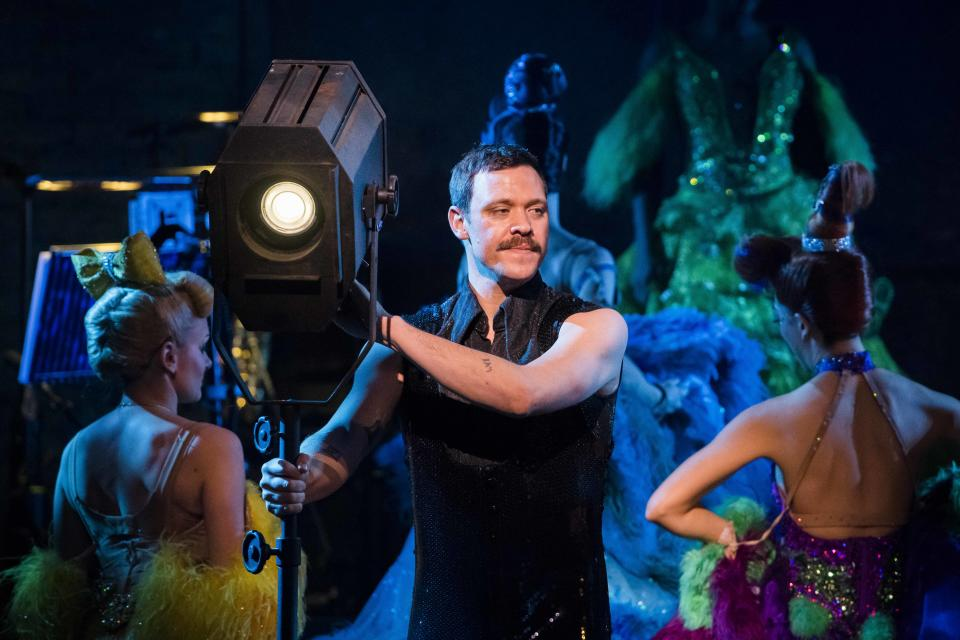 Will Young performs on stage during the Baz Luhrmann Strictly Ballroom the Musical photocall at the Picadilly Theatre - London. Picture date: Tuesday 17th April 2017. Photo credit should read: David Jensen/EMPICS Entertainment