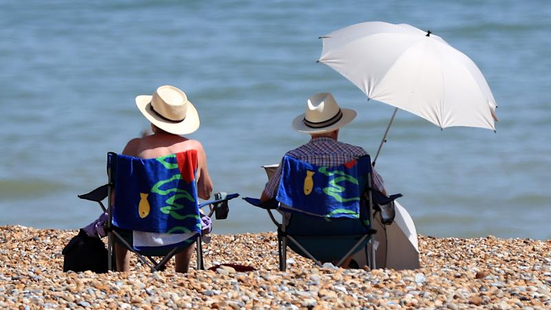 Warm weekend could see mercury hit 25C for some but wind and rain in Scotland
