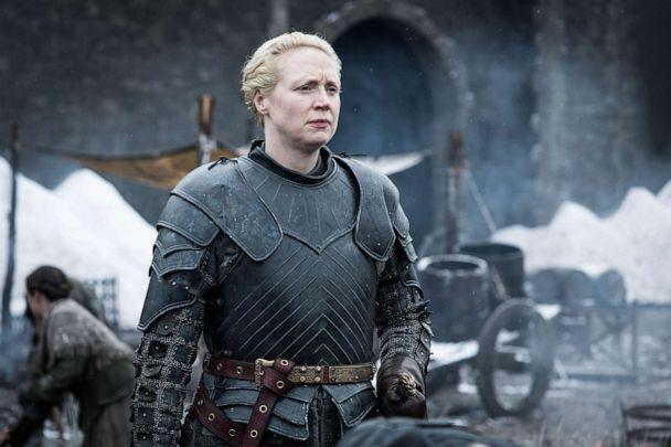 PHOTO: Gwendoline Christie appears in the eighth season of 'Game of Thrones.' (Helen Sloan/HBO)