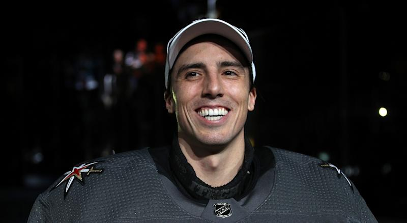 With the help of Marc-Andre Fleury, the Vegas Golden Knights will protect their employees impacted financially by the NHL's COVID-19 pause in the schedule. (Dave Sandford/NHLI via Getty Images)