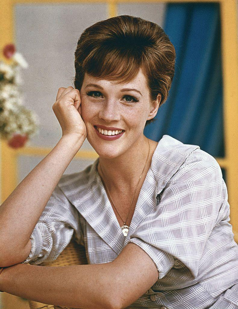 <p>English actress Julie Andrews first appeared on Broadway in 1954's <em>The Boy Friend. </em>She also earned rave reviews playing Eliza Doolittle in <em>My Fair Lady. </em>She made the leap to television and film and found major success in 1964's <em>Mary Poppins </em>and 1965's <em>The Sound of Music. </em>She won a Golden Globe for both films. She's currently the voice of Lady Whistledown in the Netflix hit <em>Bridgerton.</em><br></p>
