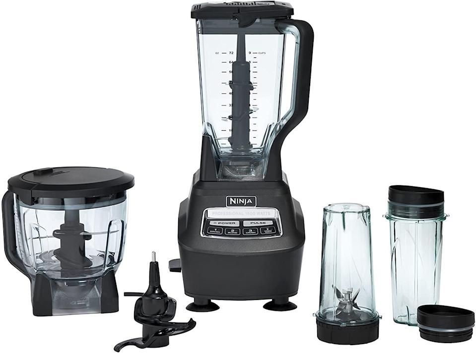 <p>The <span>Ninja Mega Kitchen System (BL770) Blender/Food Processor</span> ($150, originally $260) is a space saver!</p>