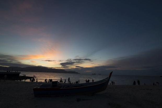 A stunning view of sunset at Pantai Bersih. — Picture by KE Ooi