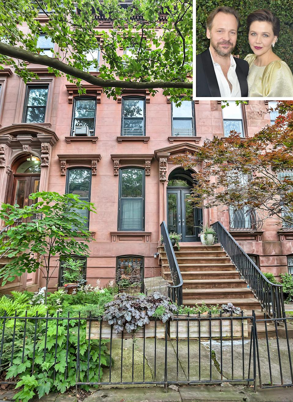 See Inside Maggie Gyllenhaal and Peter Sarsgaard's Brooklyn Townhouse — Listed for $4.6 Million