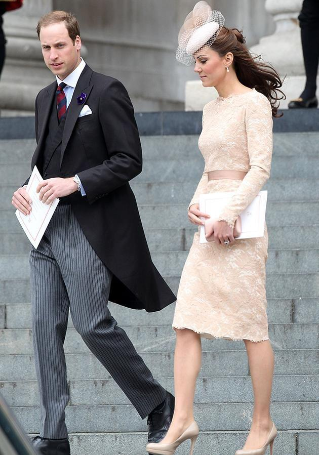 Prince William (pictured with his wife Kate Middleton in 2012) said the photos bought back bad memories for him. Photo: Getty Images.