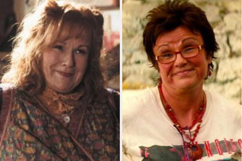 Both played by: Julie Walters