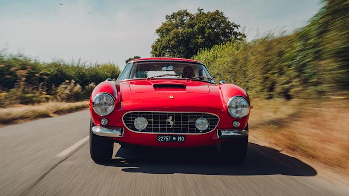 The Revival starts with a classic Ferrari donor car. - Credit: Photo: Courtesy of GTO Engineering.