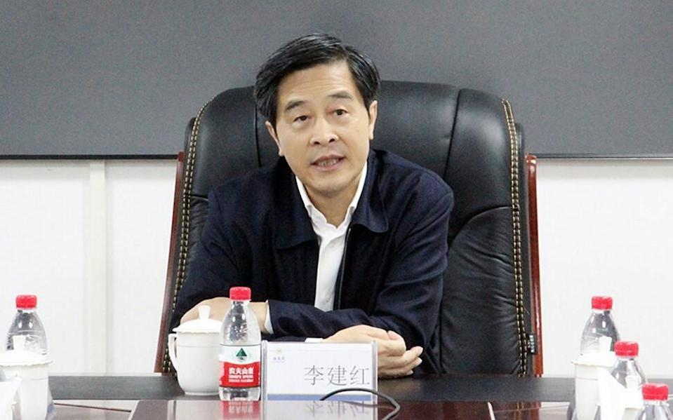 Li Jianhong, ex-chairman of China Merchants Group, the parent company of China Merchants Shekou Industrial Zone Holdings, and a delegate to the economics section of the CPPCC.