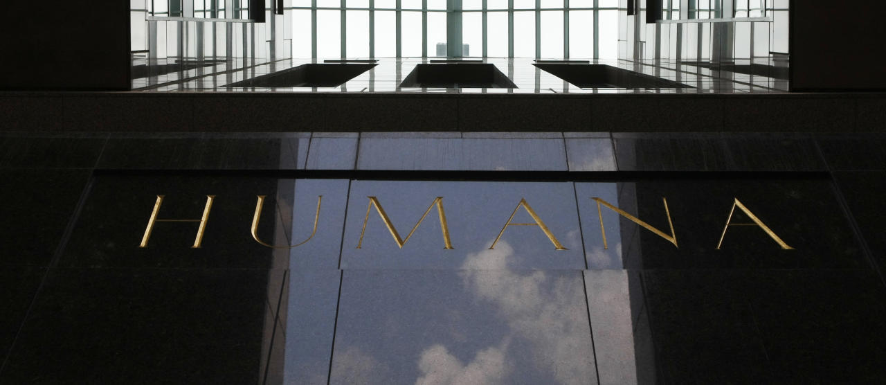<p> FILE - This Aug. 8, 2011, file photo, shows the entrance to the Humana building, in Louisville, Ky. Humana Inc. reports financial results Wednesday, May 3, 2017. (AP Photo/Ed Reinke, File) </p>