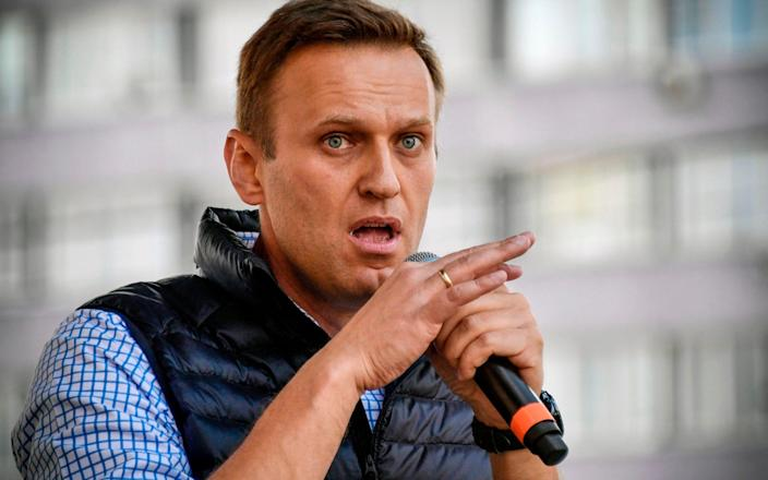 Russian opposition leader Alexei Navalny (file photo) - ALEXANDER NEMENOV/AFP via Getty Images