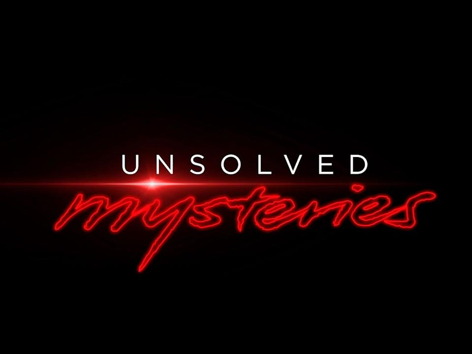 """The original """"Unsolved Mysteries"""" aired from 1987 to 1997 on NBC before moving to other networks."""