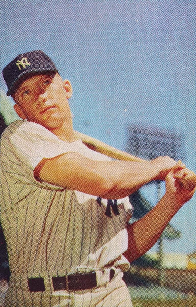 KT47BC Mickey Mantle 1953